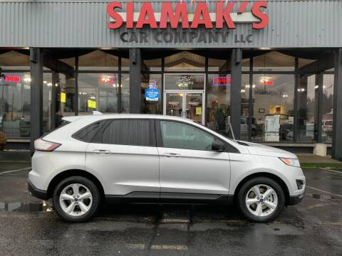 2016 Ford Edge for sale at Siamak's Car Company llc in Salem OR