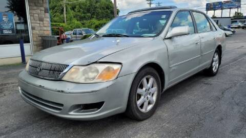 2001 Toyota Avalon for sale at Tri City Auto Mart in Lexington KY