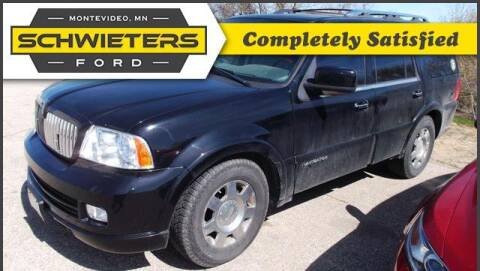 2006 Lincoln Navigator for sale at Schwieters Ford of Montevideo in Montevideo MN