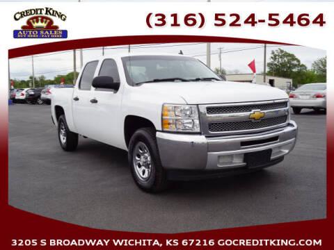 2013 Chevrolet Silverado 1500 for sale at Credit King Auto Sales in Wichita KS