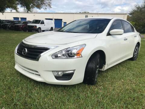 2014 Nissan Altima for sale at Krifer Auto LLC in Sarasota FL
