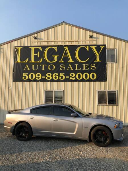 2013 Dodge Charger for sale at Legacy Auto Sales in Toppenish WA