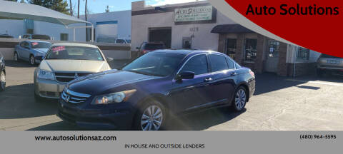 2011 Honda Accord for sale at Auto Solutions in Mesa AZ