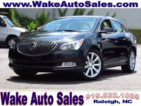 2015 Buick LaCrosse for sale at Wake Auto Sales Inc in Raleigh NC
