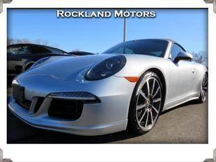 2014 Porsche 911 for sale at Rockland Automall - Rockland Motors in West Nyack NY