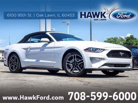 2021 Ford Mustang for sale at Hawk Ford of Oak Lawn in Oak Lawn IL