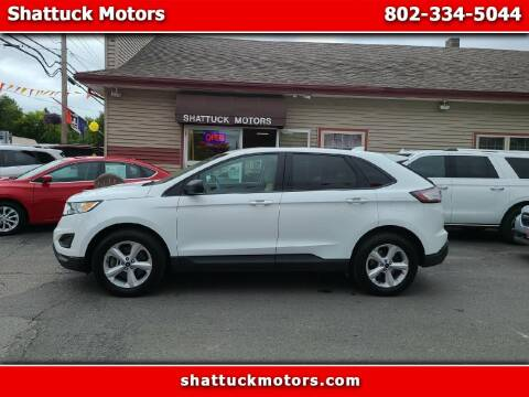 2018 Ford Edge for sale at Shattuck Motors in Newport VT