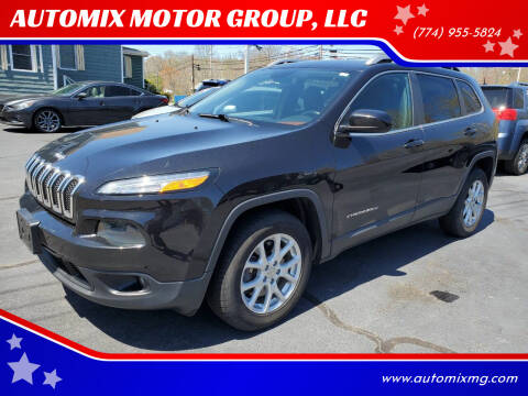 2015 Jeep Cherokee for sale at AUTOMIX MOTOR GROUP, LLC in Swansea MA