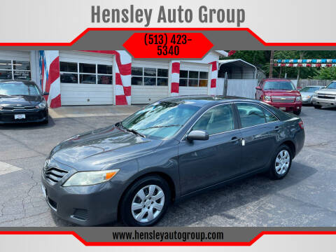 2010 Toyota Camry for sale at Hensley Auto Group in Middletown OH