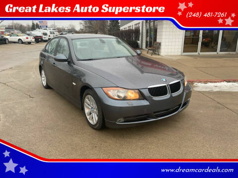 2006 BMW 3 Series for sale at Great Lakes Auto Superstore in Pontiac MI