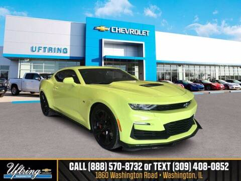 2020 Chevrolet Camaro for sale at Gary Uftring's Used Car Outlet in Washington IL