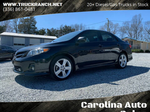 2013 Toyota Corolla for sale at Carolina Auto Sales in Trinity NC