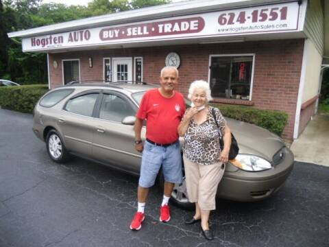 2004 Ford Taurus for sale at HOGSTEN AUTO WHOLESALE in Ocala FL