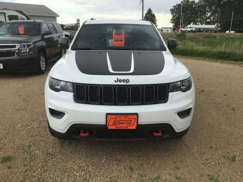 2018 Jeep Grand Cherokee 4x4 Trailhawk 4dr SUV - Rugby ND