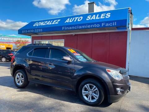 2014 Chevrolet Equinox for sale at Gonzalez Auto Sales in Joliet IL