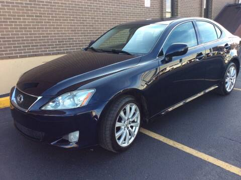 2008 Lexus IS 250 for sale at AROUND THE WORLD AUTO SALES in Denver CO