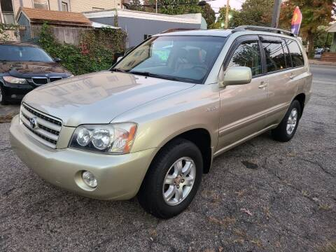 2001 Toyota Highlander for sale at Devaney Auto Sales & Service in East Providence RI