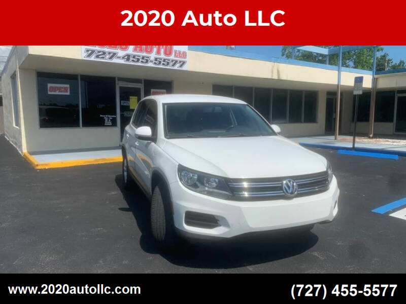 2014 Volkswagen Tiguan for sale at 2020 AUTO LLC in Clearwater FL