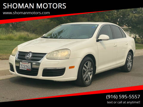 2006 Volkswagen Jetta for sale at SHOMAN MOTORS in Davis CA