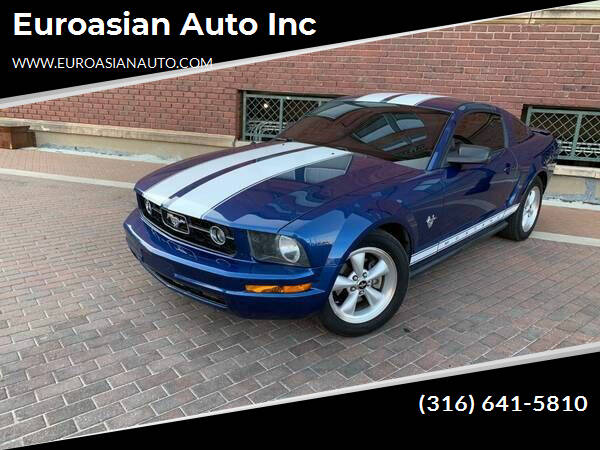 2009 Ford Mustang for sale at Euroasian Auto Inc in Wichita KS