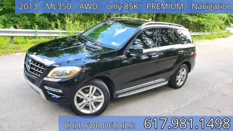 2013 Mercedes-Benz M-Class for sale at Wheeler Dealer Inc. in Acton MA