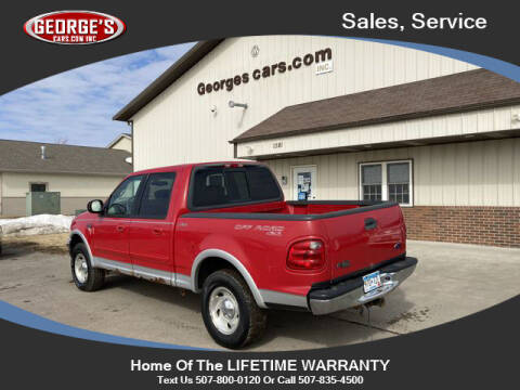 2001 Ford F-150 for sale at GEORGE'S CARS.COM INC in Waseca MN