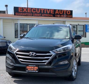 2017 Hyundai Tucson for sale at Executive Auto in Winchester VA
