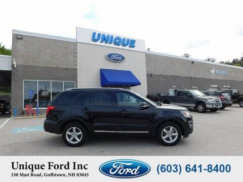2017 Ford Explorer for sale at Unique Motors of Chicopee - Unique Ford in Goffstown NH