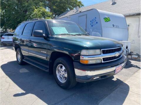 2002 Chevrolet Tahoe for sale at Dealers Choice Inc in Farmersville CA