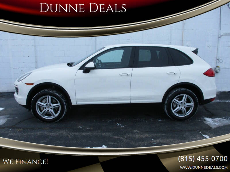 2011 Porsche Cayenne for sale at Dunne Deals in Crystal Lake IL