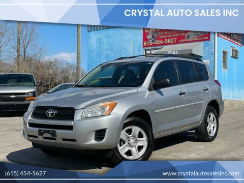 2011 Toyota RAV4 for sale at Crystal Auto Sales Inc in Nashville TN