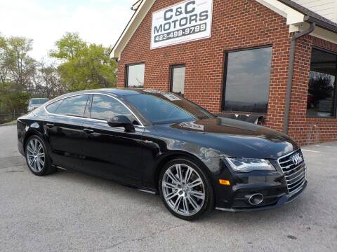 2013 Audi A7 for sale at C & C MOTORS in Chattanooga TN