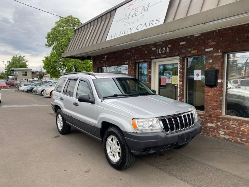 2003 Jeep Grand Cherokee for sale at M&M Auto Sales in Portland OR