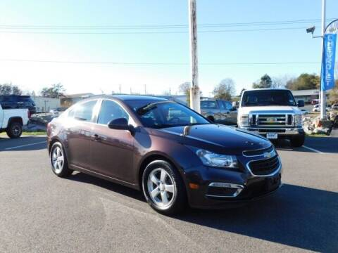 2015 Chevrolet Cruze for sale at Radley Cadillac in Fredericksburg VA
