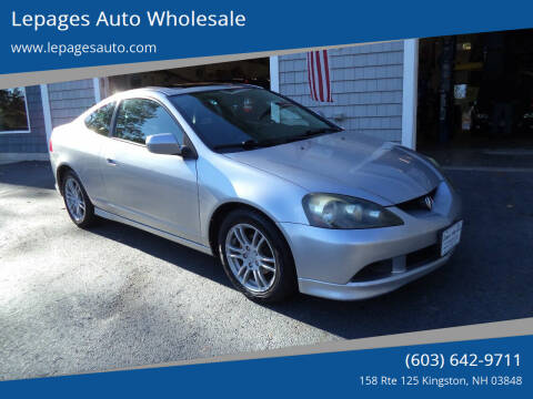 2005 Acura RSX for sale at Lepages Auto Wholesale in Kingston NH
