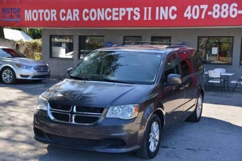2016 Dodge Grand Caravan for sale at Motor Car Concepts II - Apopka Location in Apopka FL
