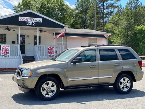 2006 Jeep Grand Cherokee for sale at CVC AUTO SALES in Durham NC
