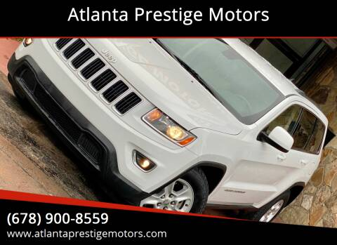 2014 Jeep Grand Cherokee for sale at Atlanta Prestige Motors in Decatur GA