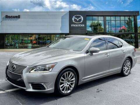 2016 Lexus LS 460 for sale at Mazda Of Roswell in Roswell GA