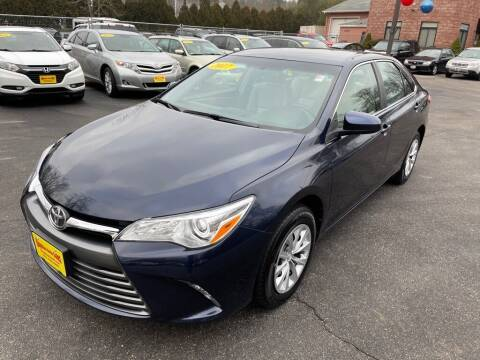2017 Toyota Camry for sale at KINGSTON AUTO SALES in Wakefield RI