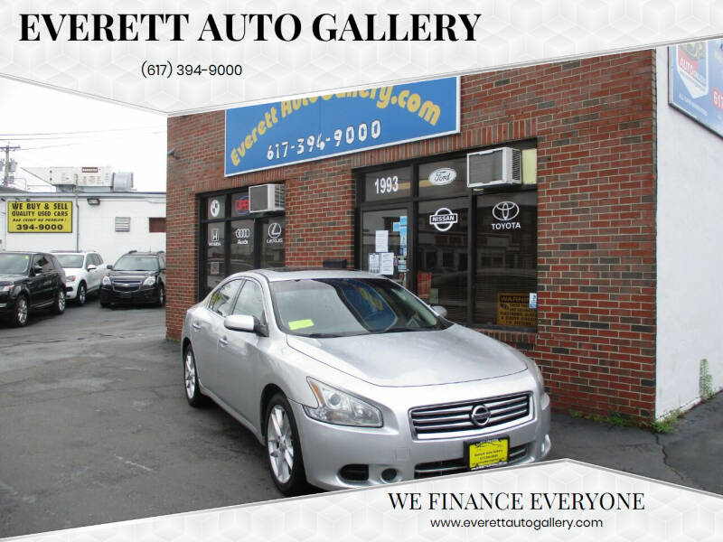 2013 Nissan Maxima for sale at Everett Auto Gallery in Everett MA