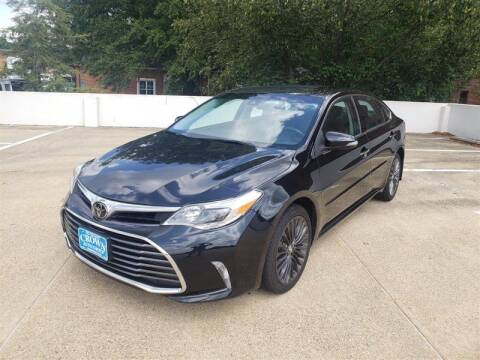 2017 Toyota Avalon for sale at Crown Auto Group in Falls Church VA