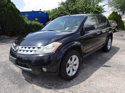 2007 Nissan Murano for sale at HOUSTON'S BEST AUTO SALES in Houston TX