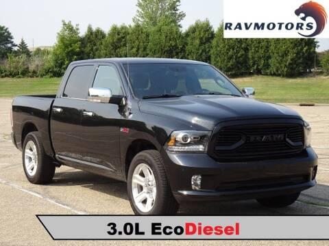 2016 RAM Ram Pickup 1500 for sale at RAVMOTORS in Burnsville MN