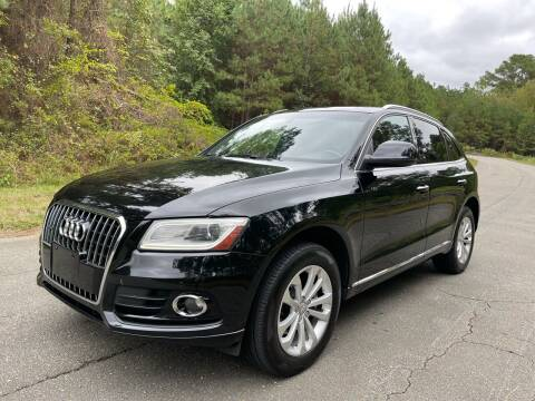 2015 Audi Q5 for sale at Carrera AutoHaus Inc in Clayton NC