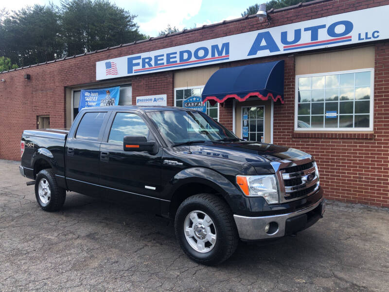 2013 Ford F-150 for sale at FREEDOM AUTO LLC in Wilkesboro NC