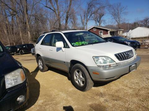 2002 Lexus RX 300 for sale at Northwoods Auto & Truck Sales in Machesney Park IL