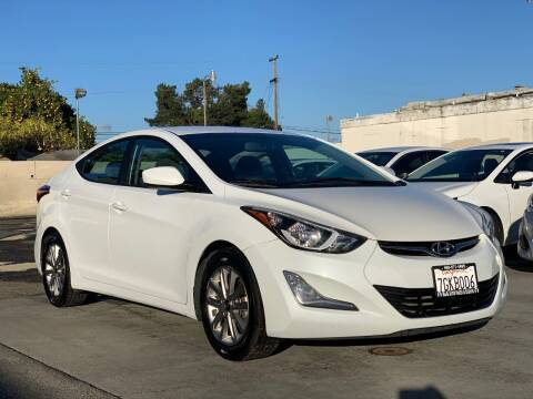 2014 Hyundai Elantra for sale at H & K Auto Sales & Leasing in San Jose CA