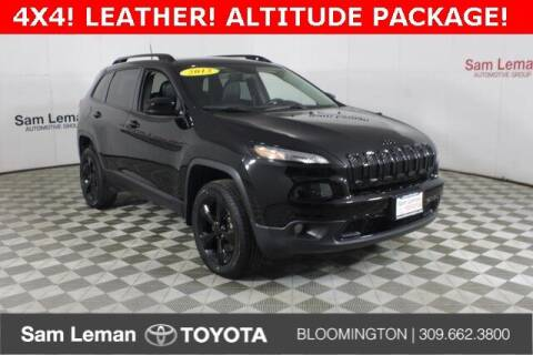 2018 Jeep Cherokee for sale at Sam Leman Toyota Bloomington in Bloomington IL