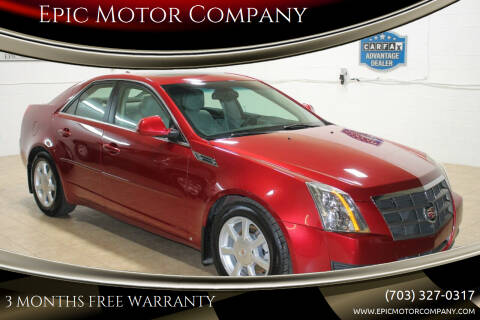 2009 Cadillac CTS for sale at Epic Motor Company in Chantilly VA